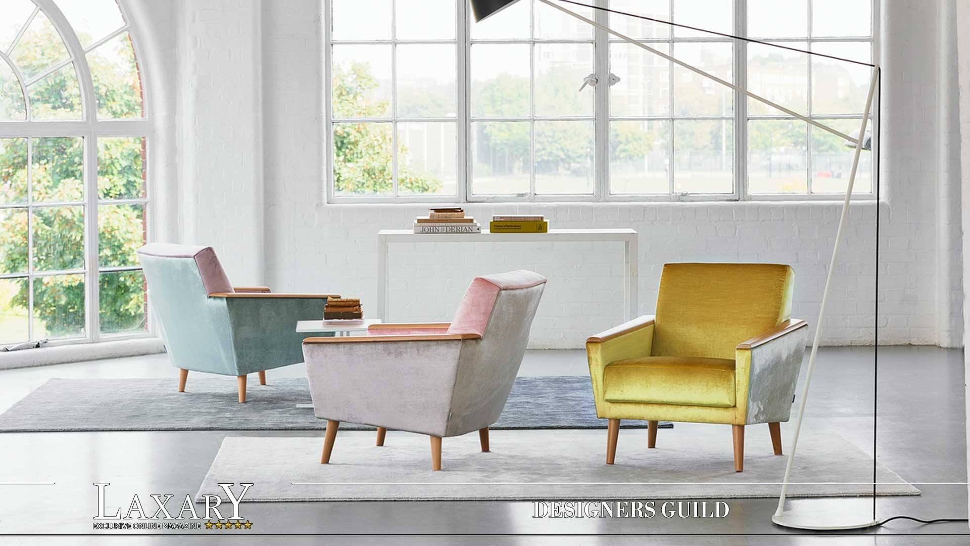 f r das besondere ambiente stoff und tapetenkollektionen von designers guild einrichtung mit. Black Bedroom Furniture Sets. Home Design Ideas