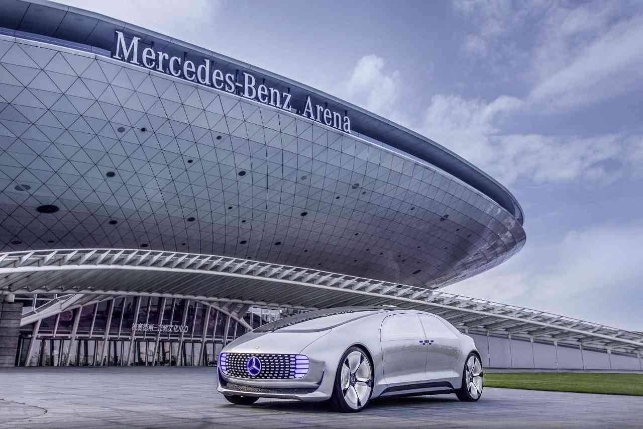 Der Blick in die Zukunft – Mercedes Benz F 015