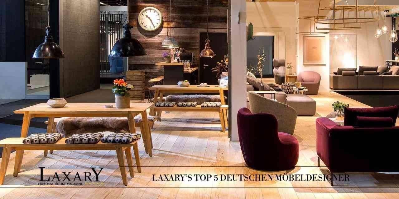 Möbeldesigner – Die Top 5 deutschen Möbeldesigner