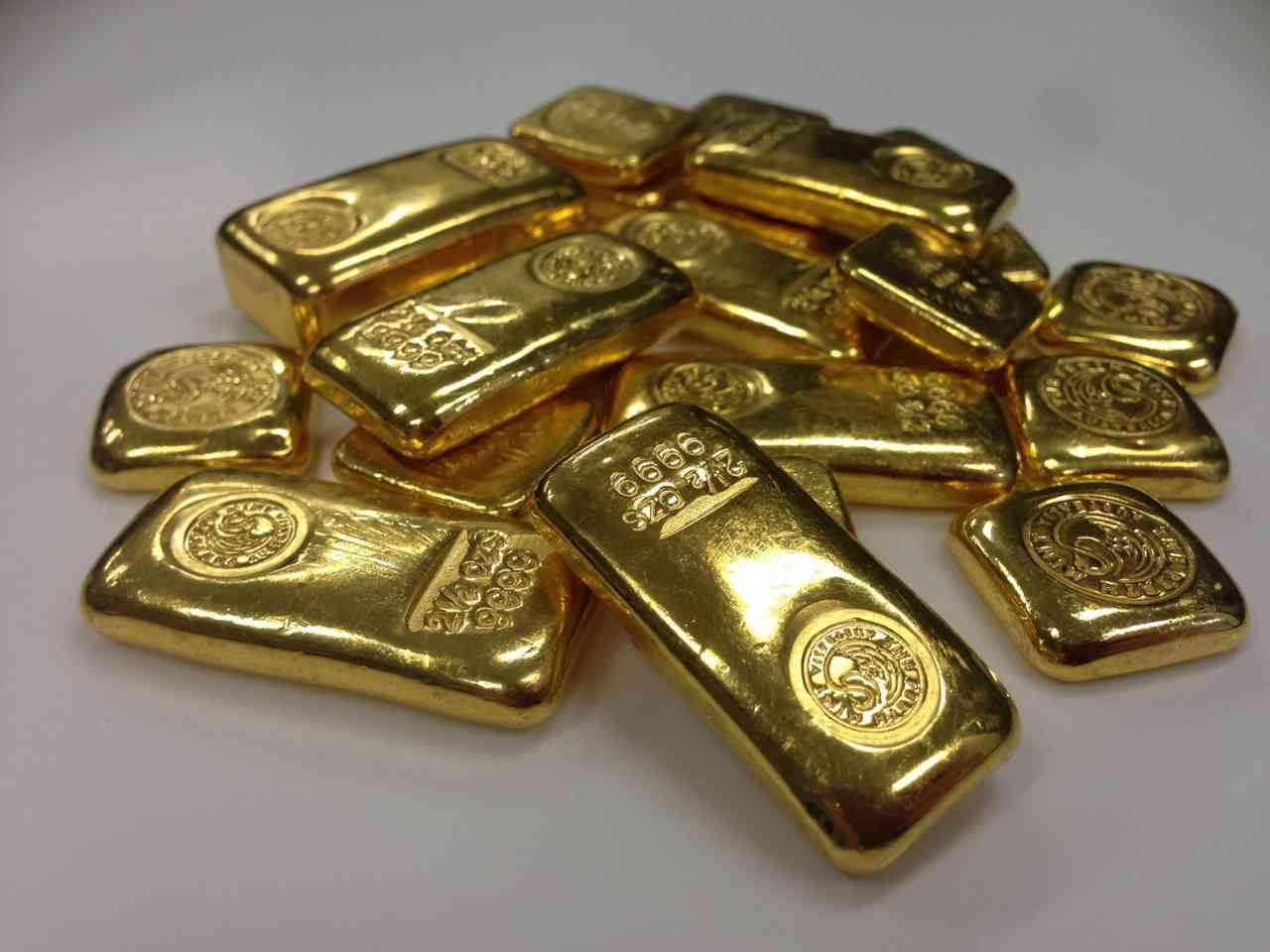 scheideanstalt goldbarren