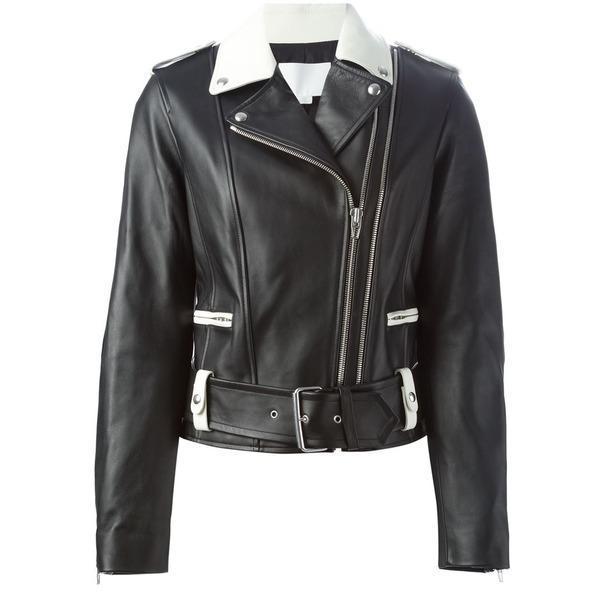 alexander wang betted biker jacket