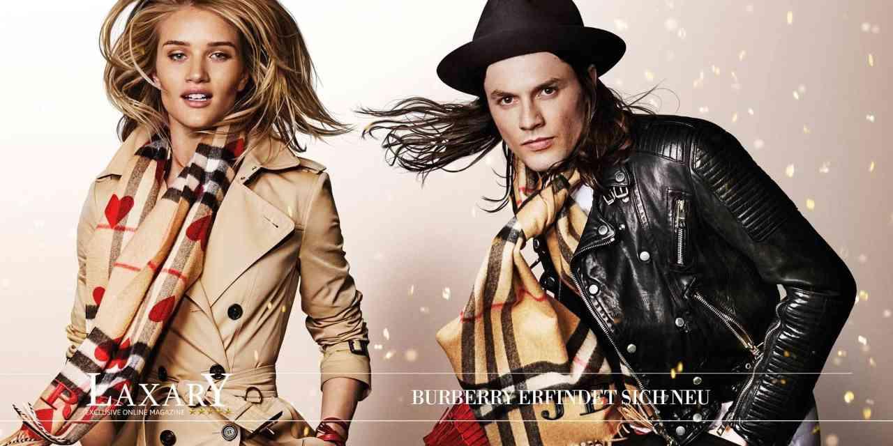 Die Luxusmarke Burberry erfindet sich neu
