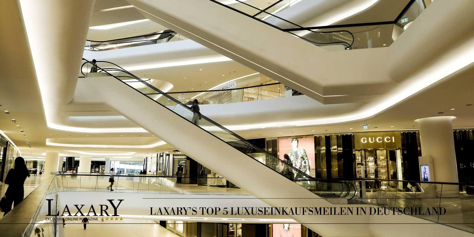 Hot Spots: Top Luxus Shopping in Deutschland