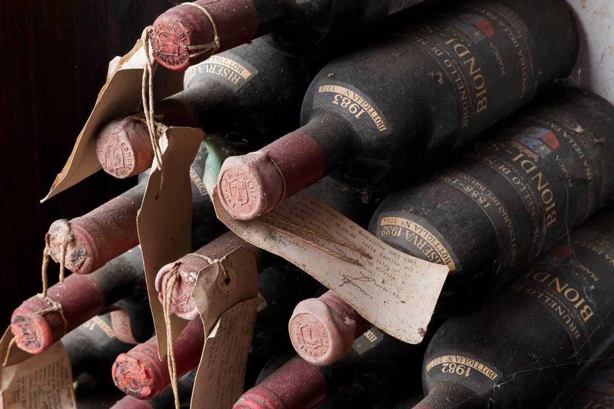 Weinsammler sind begeistert: Brunello Biondi Santi
