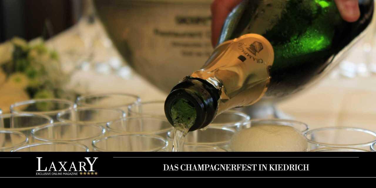 Champagner Festivals in Deutschland - Kiedrich im Rheingau