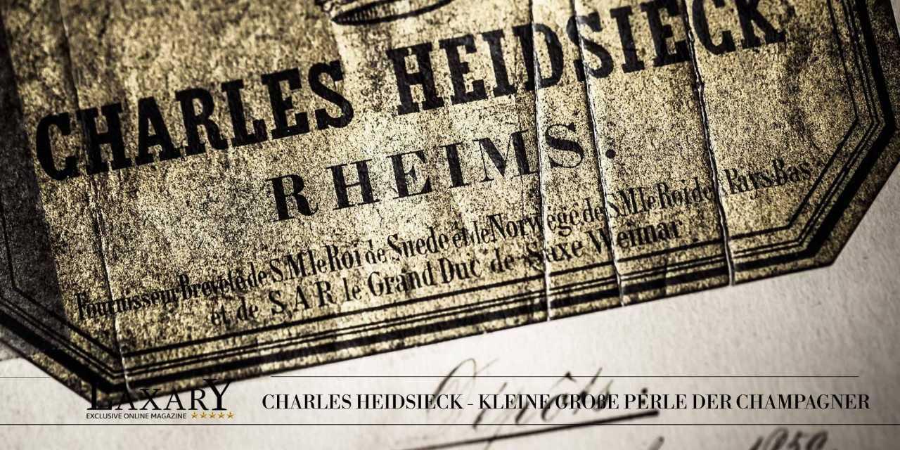 Charles Heidsieck – kleine große Perle der Champagne