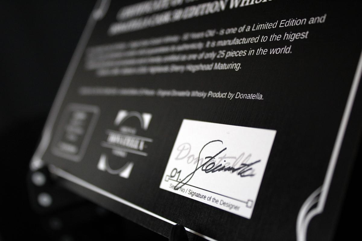 donatella whisky cask 50 zertifikat