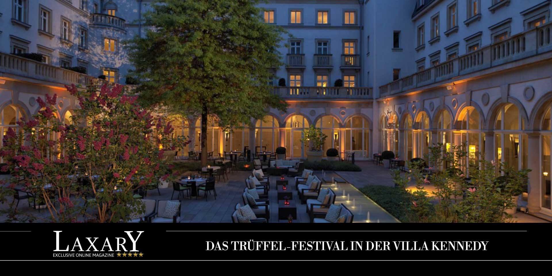 Das Trüffel-Festival in der Villa Kennedy Frankfurt am Main