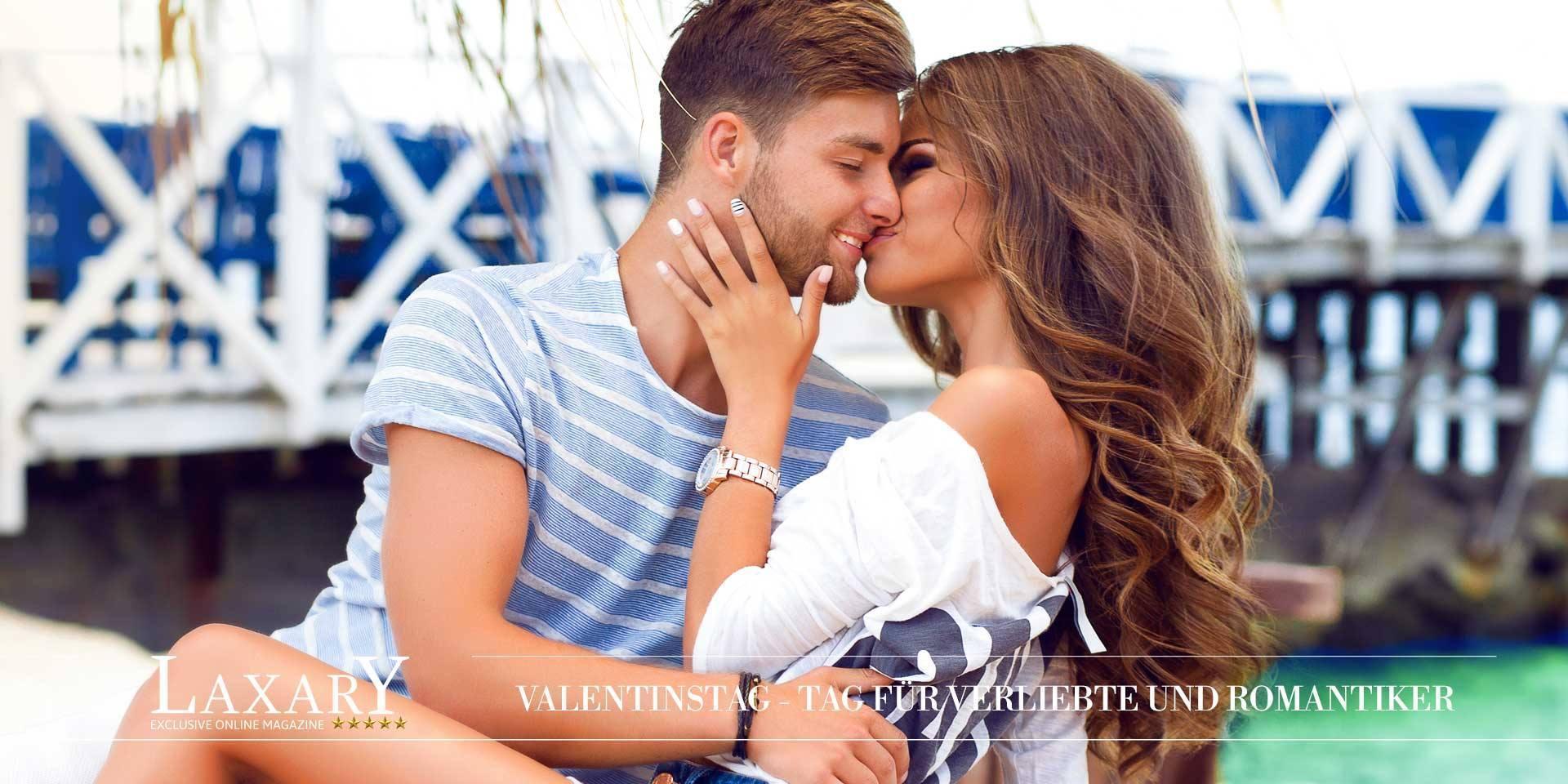 Grüße zum Valentinstag, dem Tag für Verliebte und Romantiker