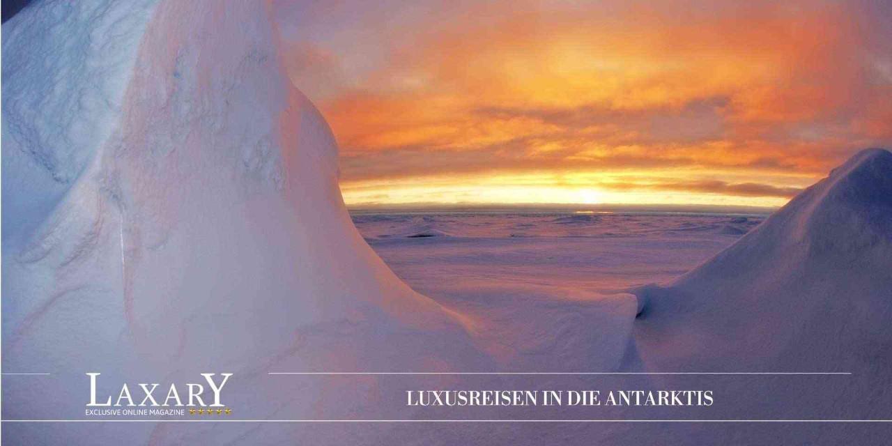 Luxusreisen in die Antarktis