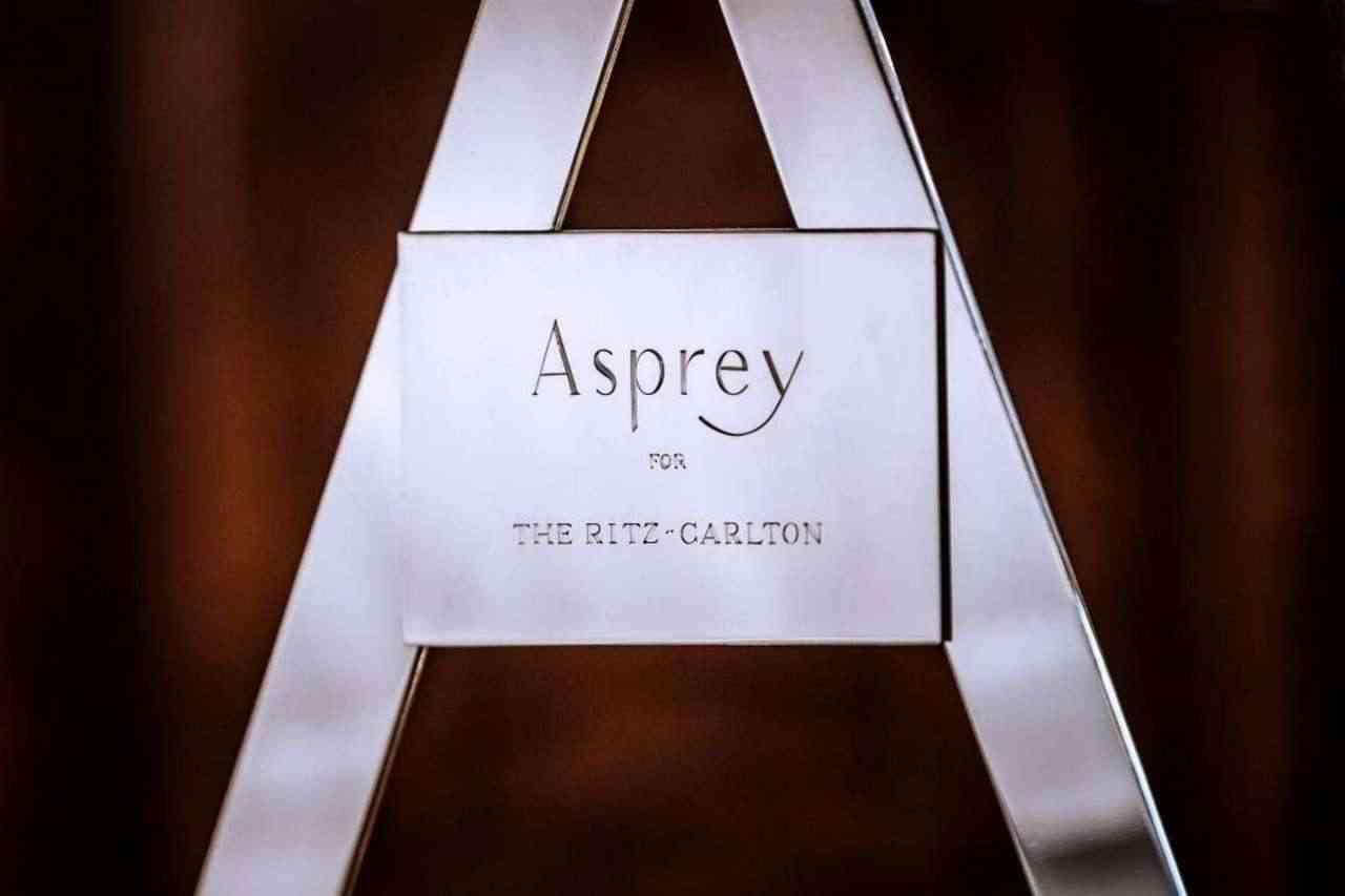 Ein Asprey SilberTrolley für das Ritz-Carlton