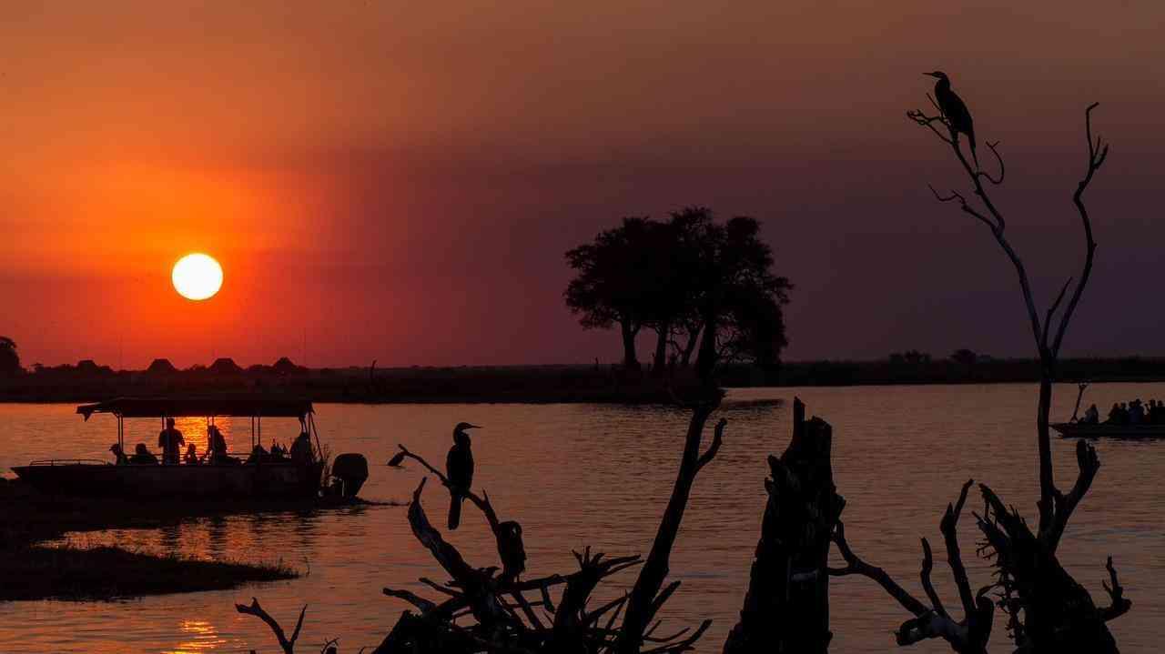 Eine Luxusreise nach Botswana