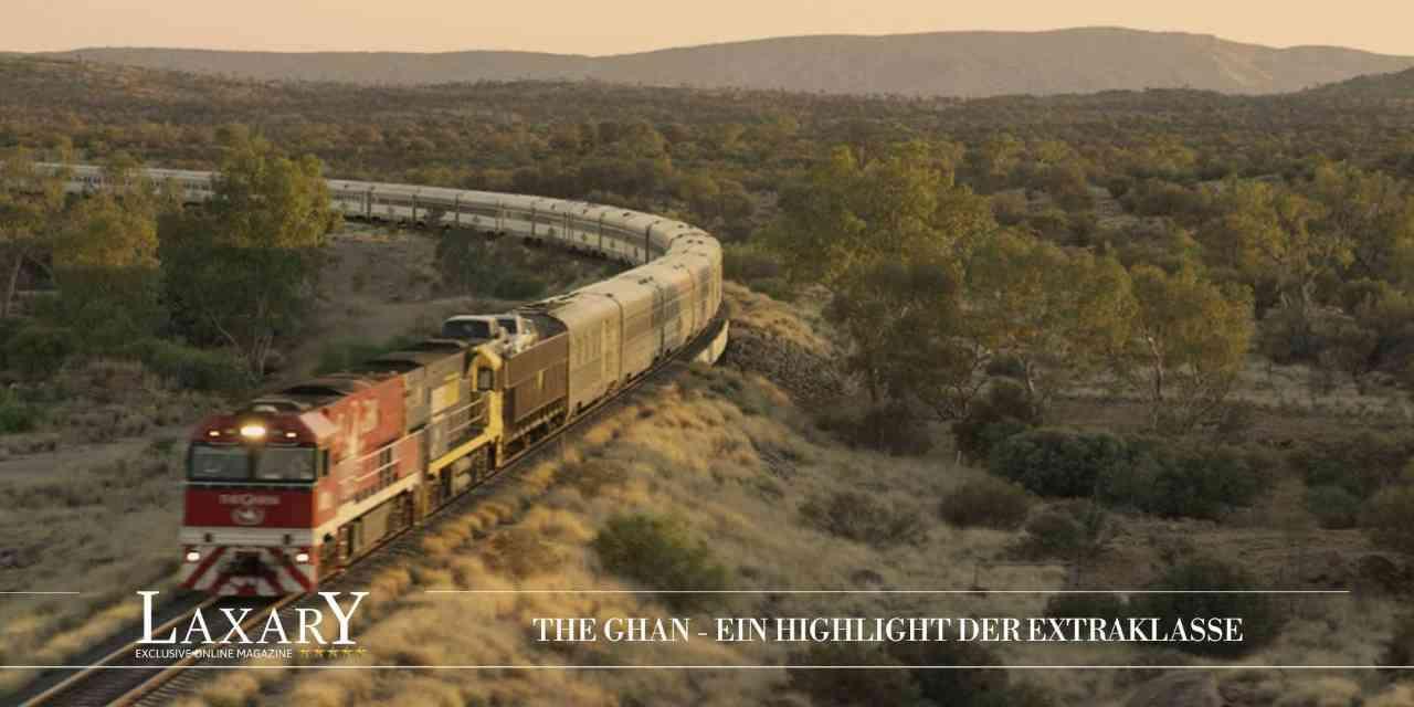 The Ghan – Edles Ambiente in rustikaler Outback-Umgebung