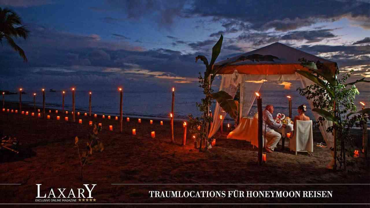Weltweite Traumlocations für Honeymooner