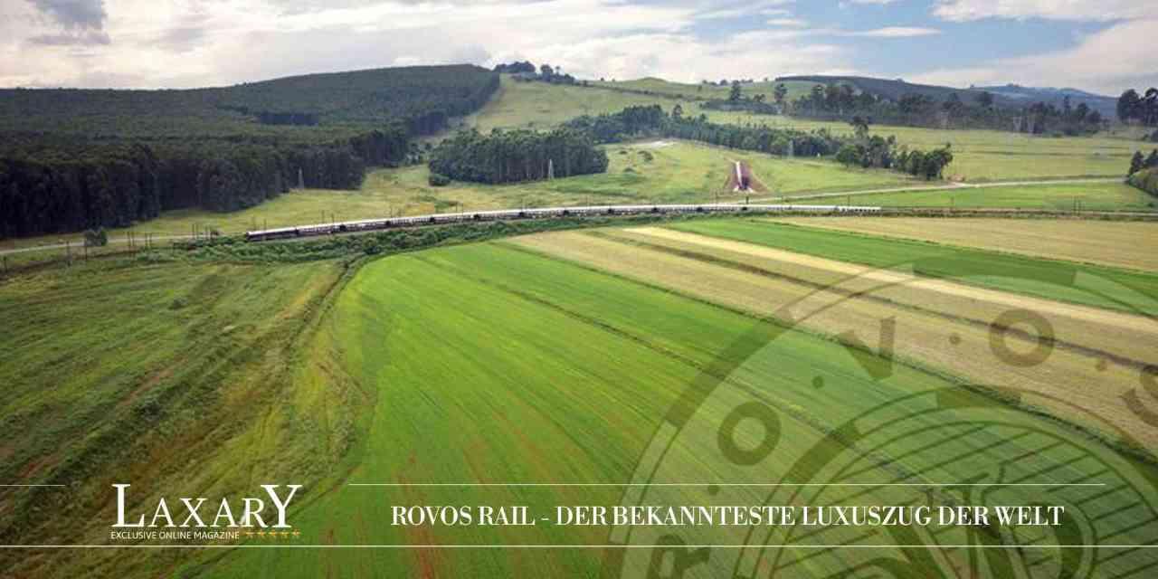 Luxus pur: Mit dem Rovos Rail durch das Südliche Afrika