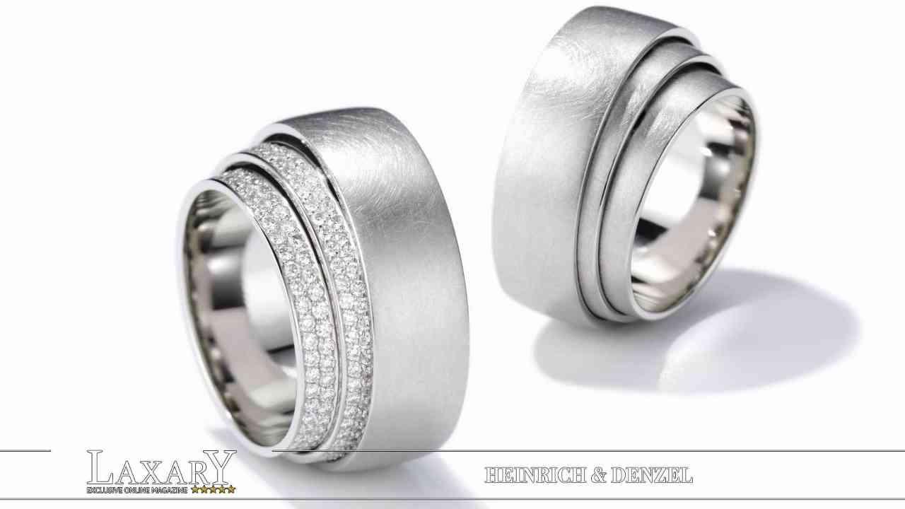 Platin, edles Metall, fein verarbeitet von Heinrich & Denzel
