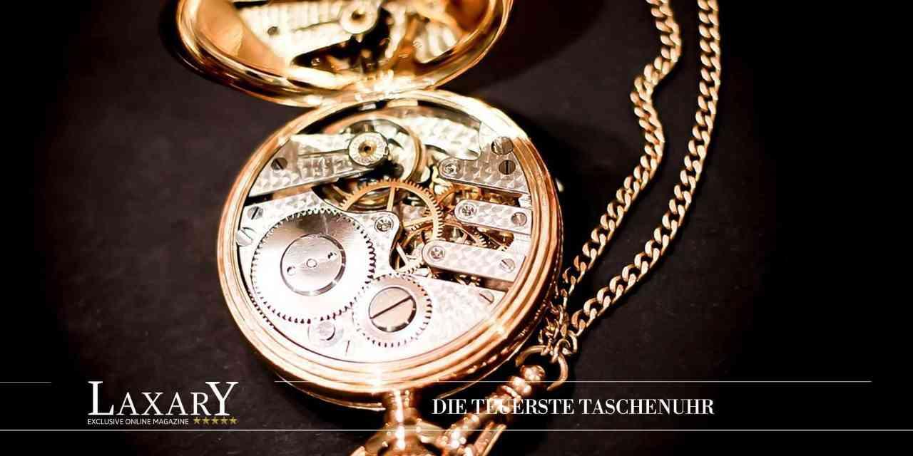Teuerste Taschenuhr der Welt – Das ist die Patek Philippe