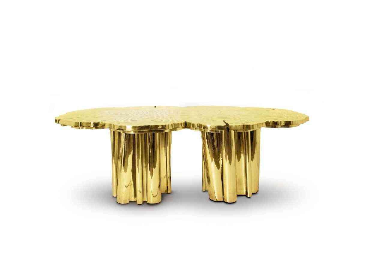 esstisch gold