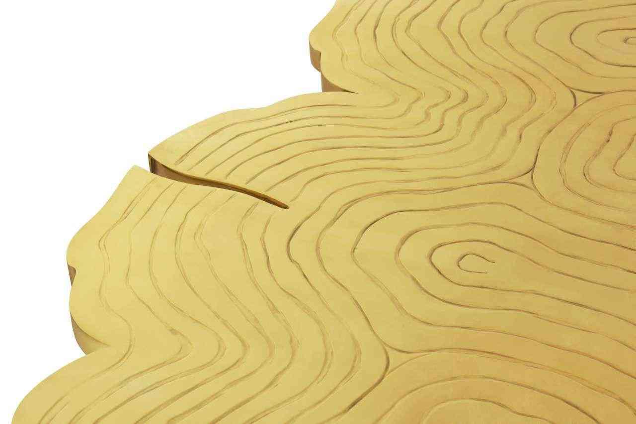 esstisch gold tischplatte